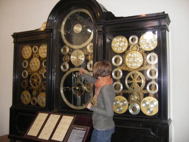 Часы в музее бурылина