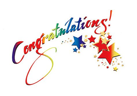 Поздравление с победой в конкурсе, спортивных соревнованиях